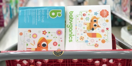 $5/1 Babyganics Diaper Coupon = Club Packs Only $14.99 After Target Gift Card