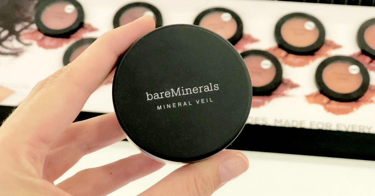 photograph relating to Bare Minerals Printable Coupon identified as 50% off BareMinerals, IT Beauty Brushes + 2 Freebies