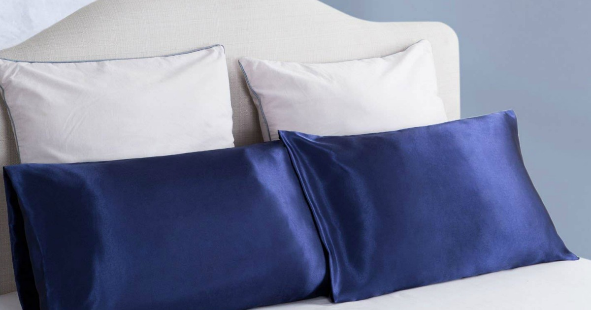Amazon Bedsure Satin Pillowcases 2 Pack As Low As 7 99