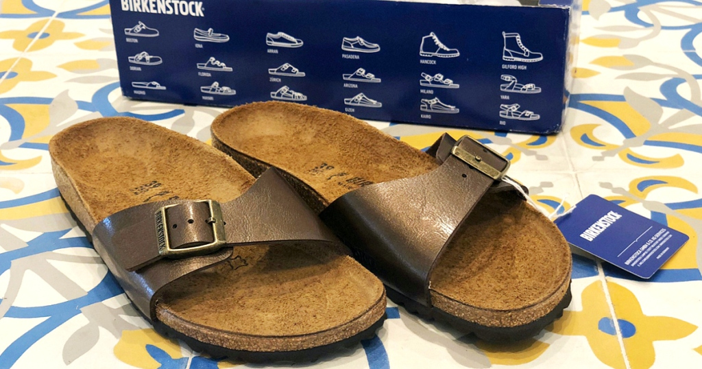enter to win a pair of Birkenstock sandals like these!