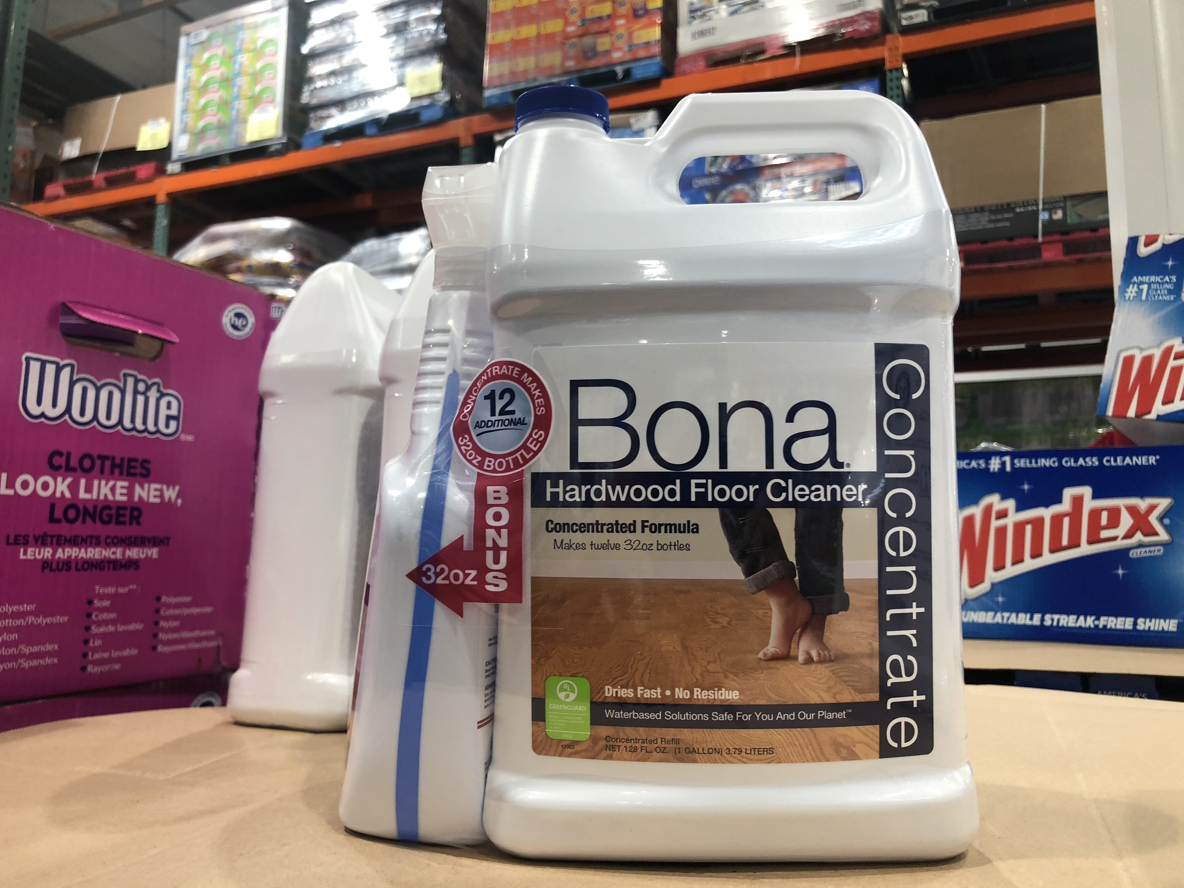 Costco Monthly Deals for September 2018 - Bona cleaner at Costco