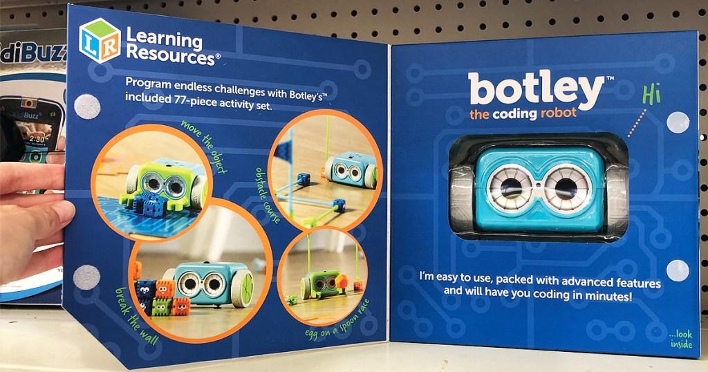 botley coding robot on shelf