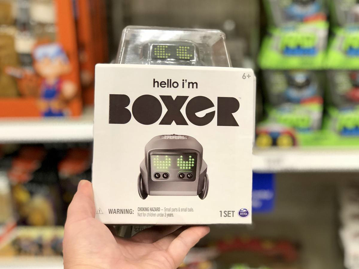 target 2018 toy catalog and gift card – BOXER AI toy at Target