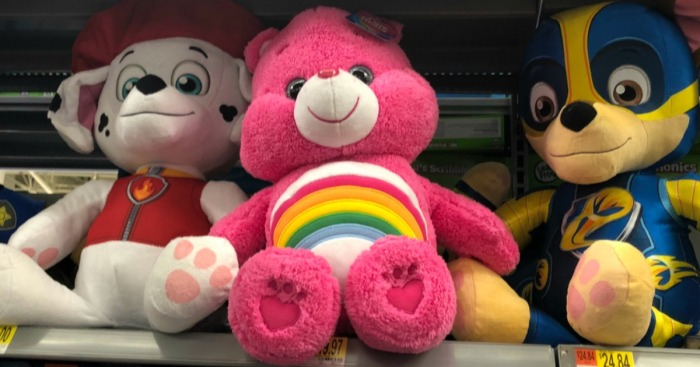 Up To 60 Off Plush Toys At Walmart Com Care Bears Elephants