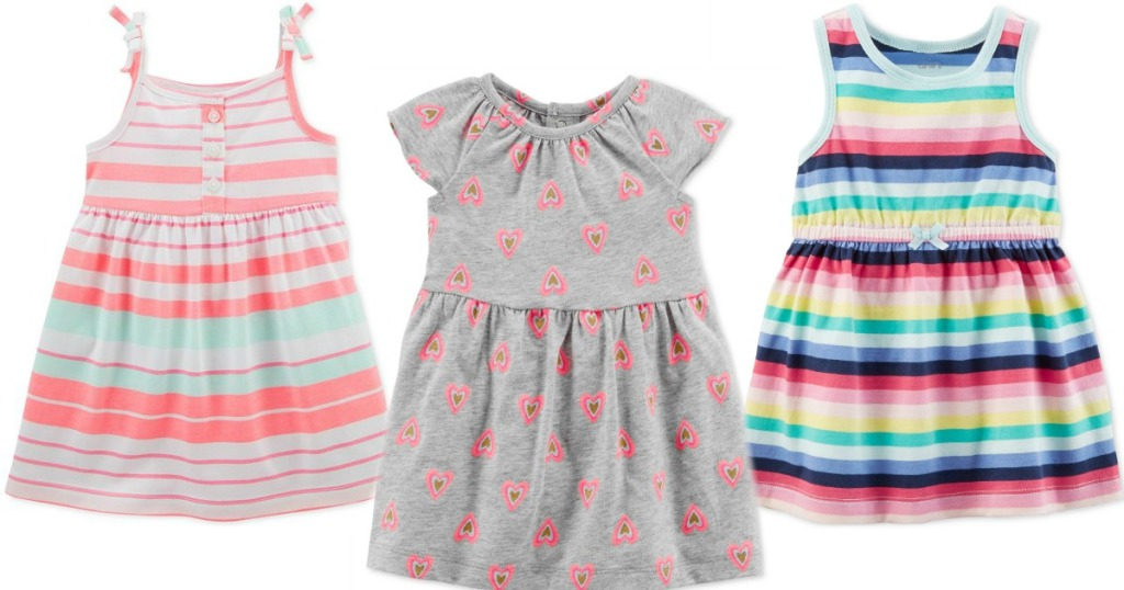 2e032cc094f8 Carter s Baby Dresses   More Only  2.96 at Macy s (Regularly  18+) ...