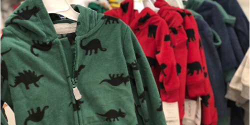 Carter's Fleece Jumpsuits Only $6.97 Shipped (Regularly $20) + More