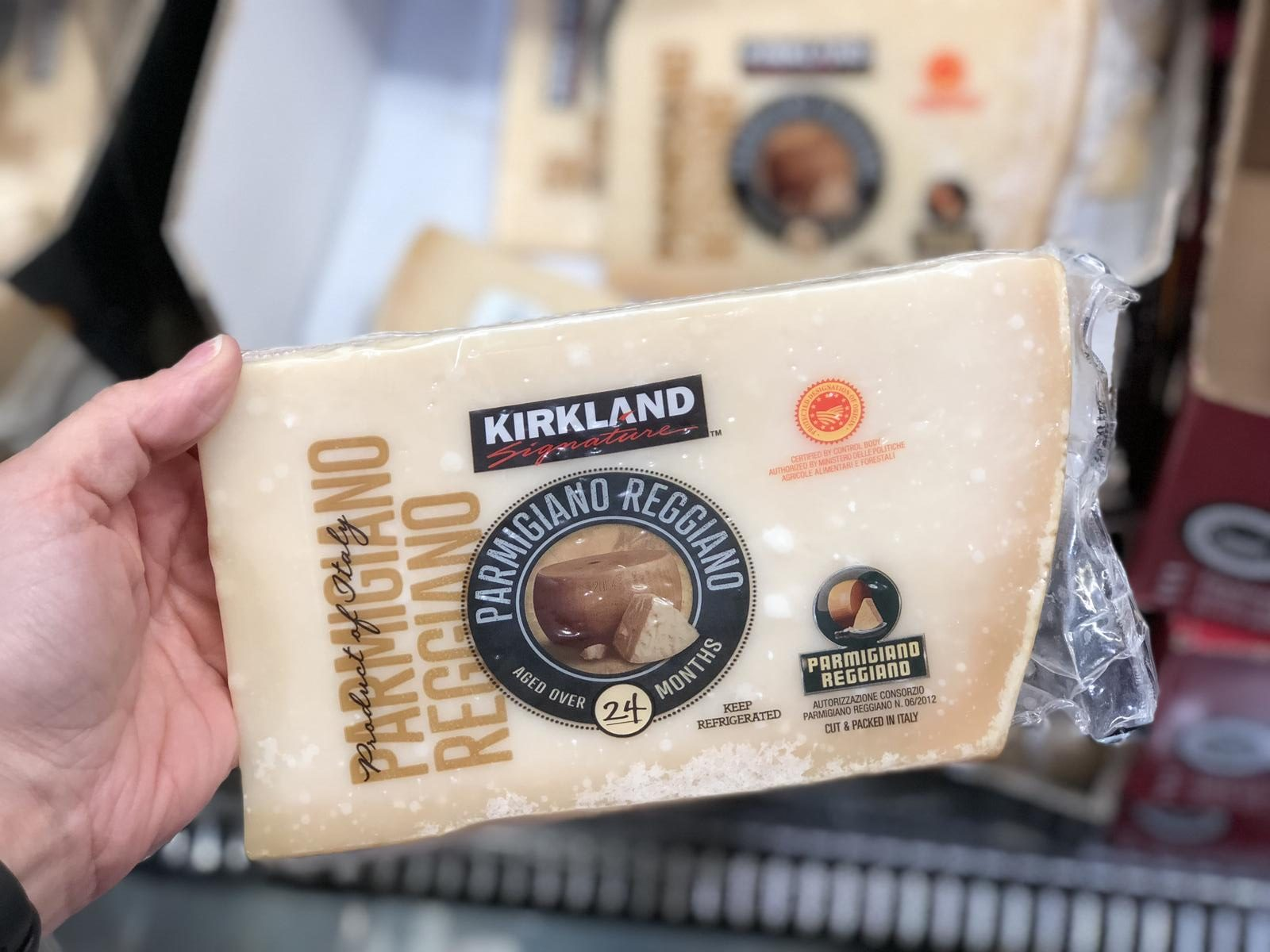 name brands sometimes make costco items, like this Cheese at Costco