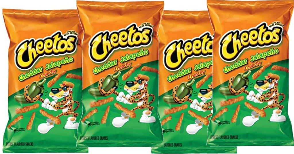 Cheetos Jalapeno snack bags