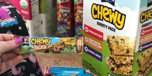 Over 25% Off Snacks at Amazon (Quaker Granola Bars, Frito-Lay Chips & More)
