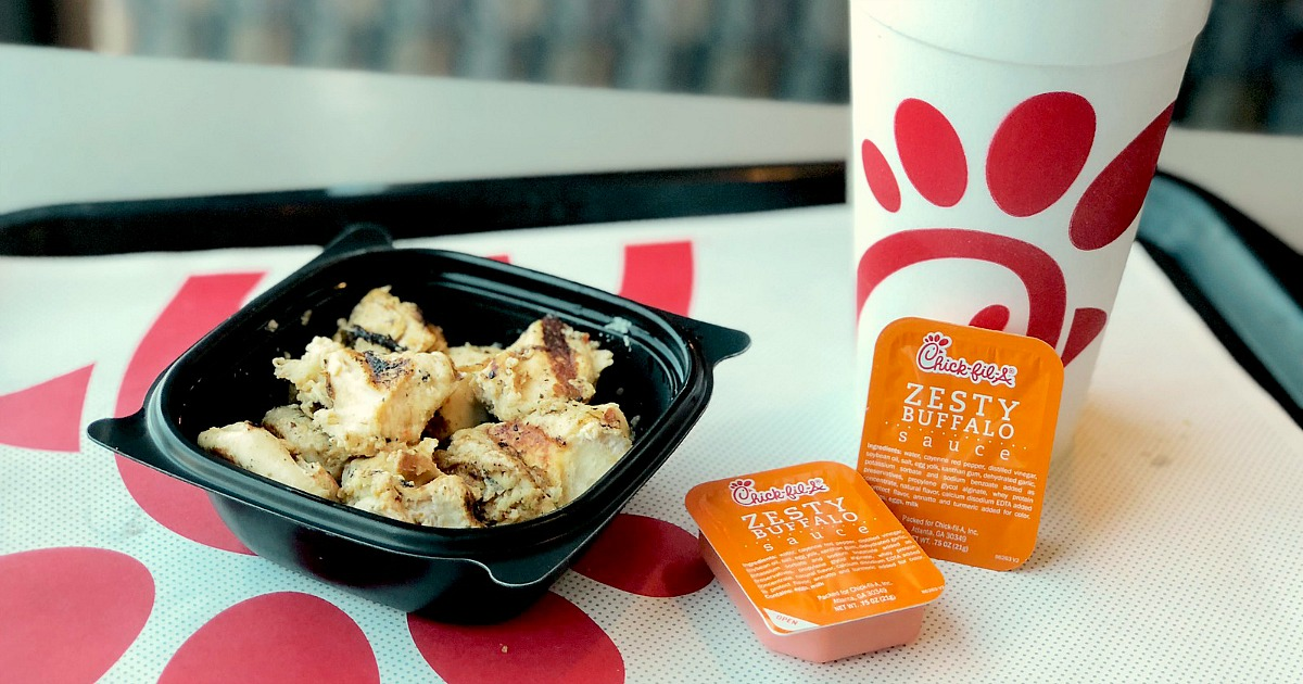 chick-fil-a is one of the best fast food chains out there – chick-fil-a grilled chicken nuggets