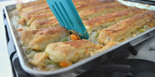Sheet Pan Chicken Pot Pie (Favorite Childhood Recipes Series)