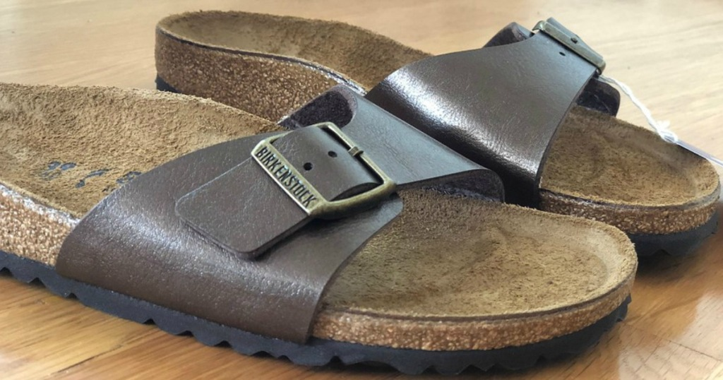 last chance to win: enter for a chance at a pair of Birkenstock sandals like these (or the north face jackets)!