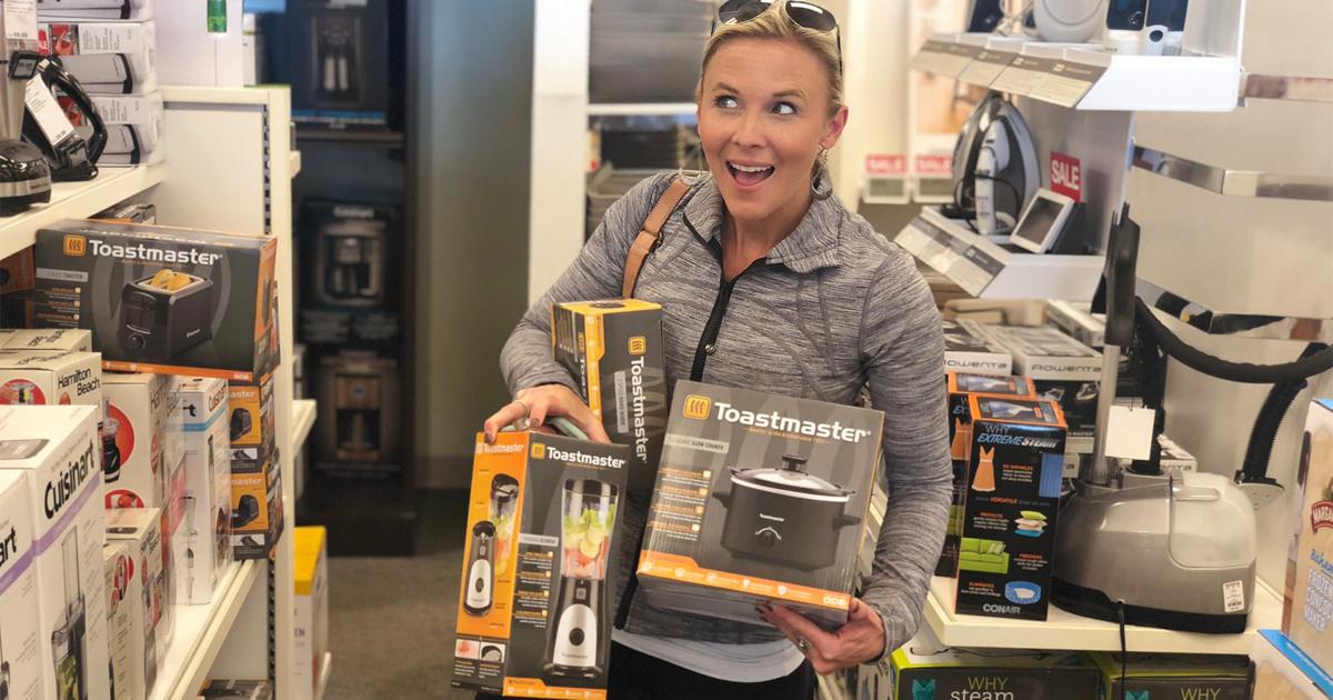15 best kohls black friday 2018 deals - collin toastmaster appliances at Kohl's