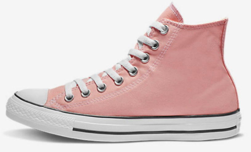 1753b9a57248 Converse Chuck Taylor All Star Seasonal Colors High Tops – pink or storm  pink  60. Use the code 50COLOR (50% off) Shipping is free for Nike+ members  (free ...