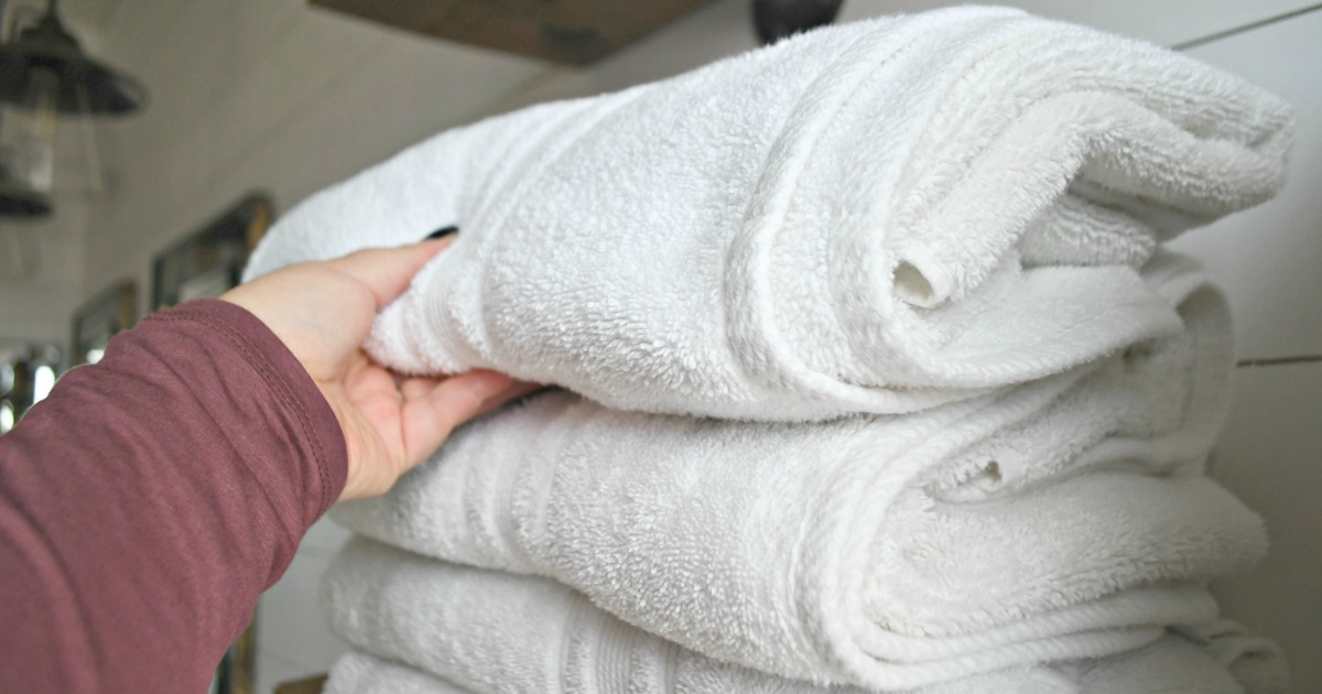 Costco Charisma bath towels