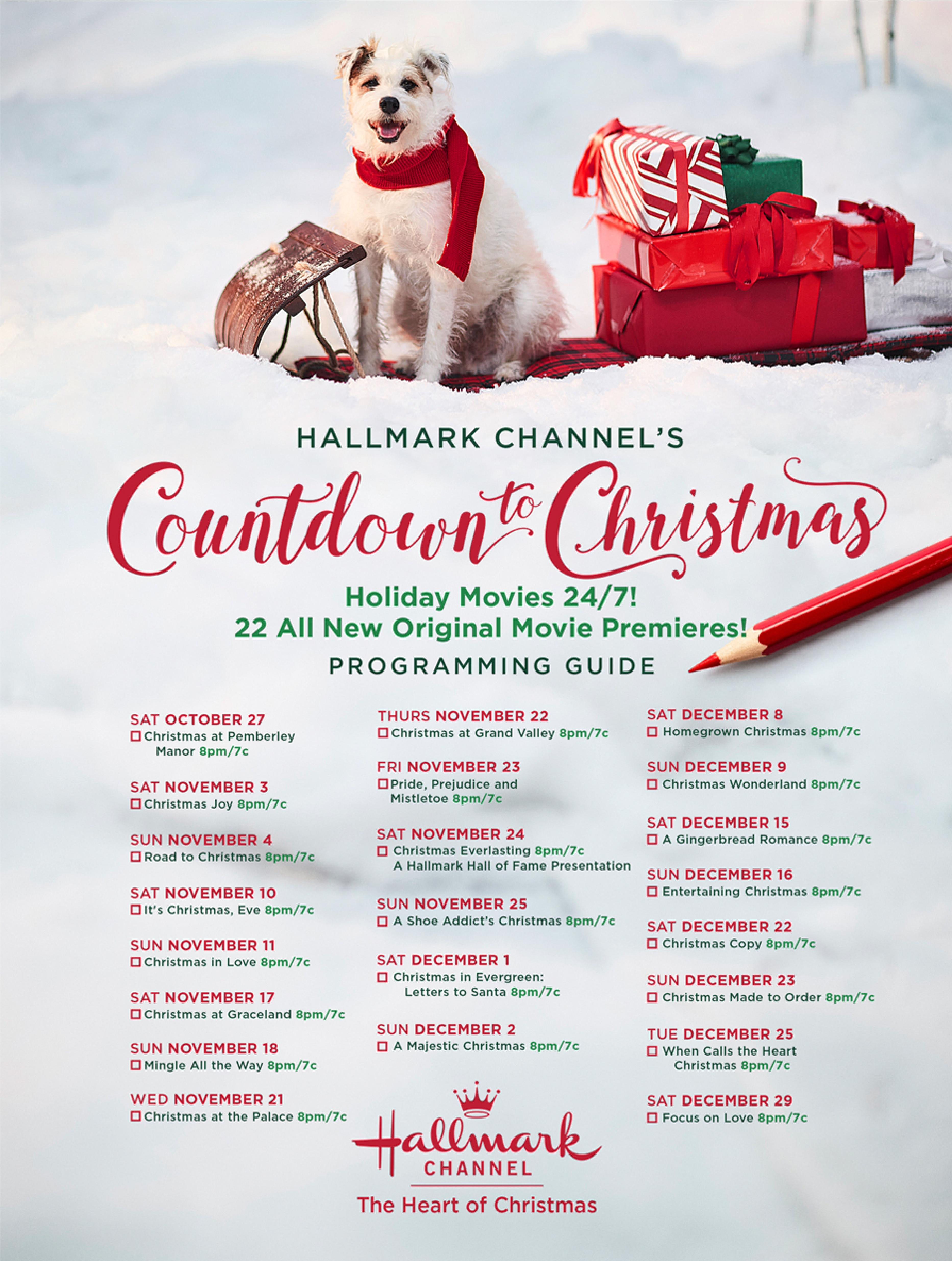 Christmas 2020 Lineup Hallmark Channel Schedule For Christmas Movies 2020 Releases