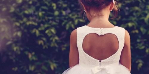 Up to 70% off David's Bridal Flower Girl Dresses
