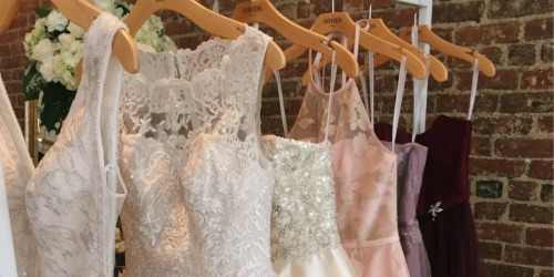 David's Bridal Wedding Dresses Only $99 (Regularly up to $1400)