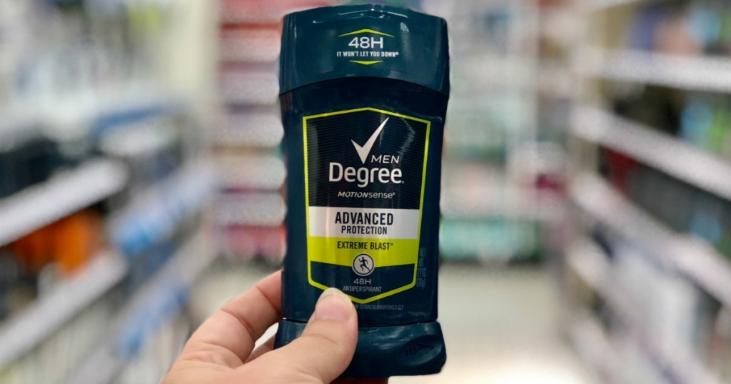 degree mens advanced protection deodorant stick