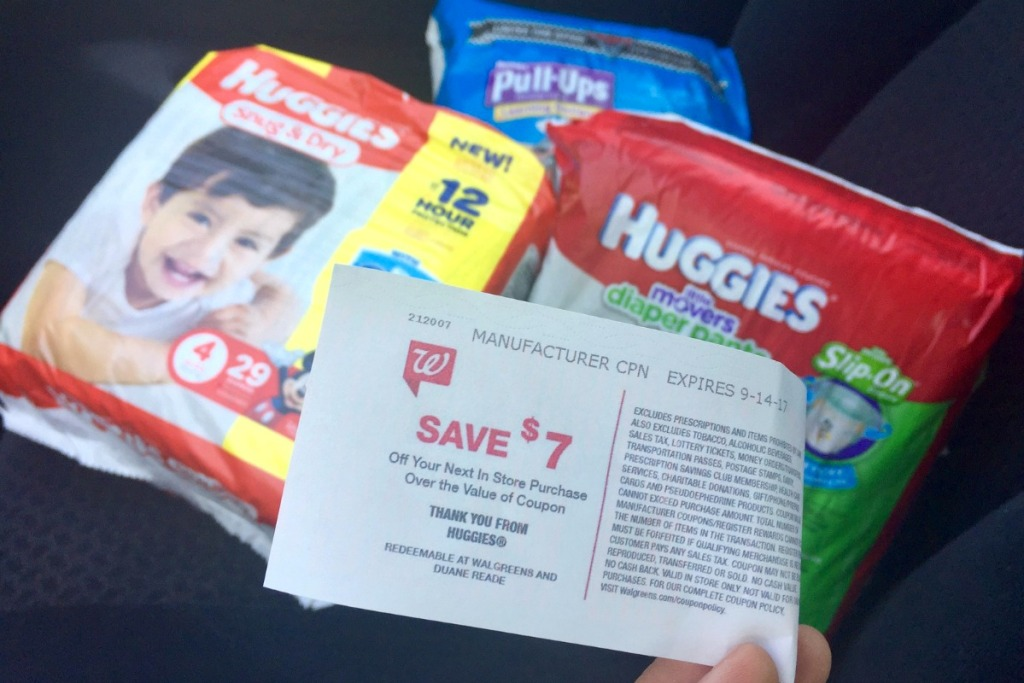 diaper stock up deals — coupon at walgreens for diapers