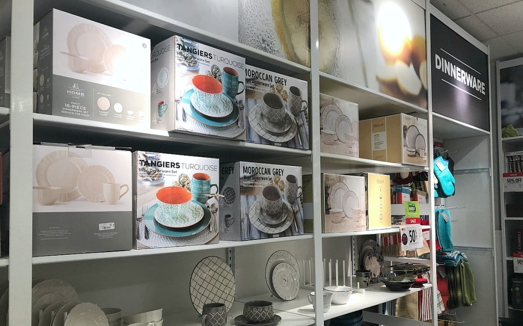 jcpenney shopping tips — dinnerware sets at jcpenney