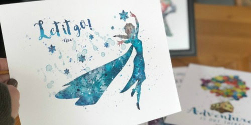 Disney Inspired Character Prints as Low as $5 Each Shipped | Frozen, Cinderella & More