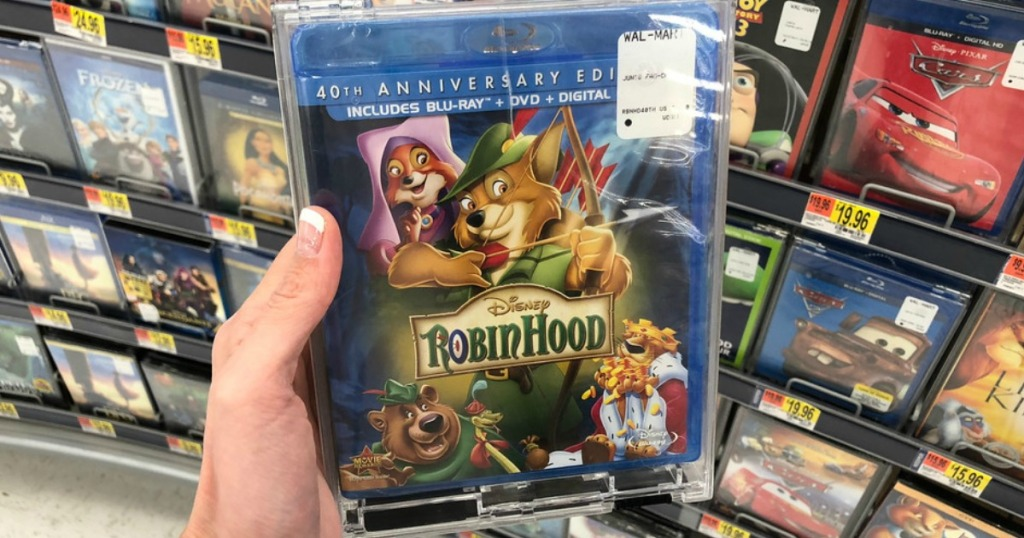 Disney Robin Hood Blu-ray DVD