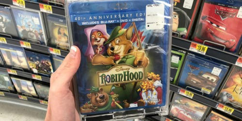 Disney Robin Hood Blu-Ray Combo Pack Only $5.99 on Best Buy + More