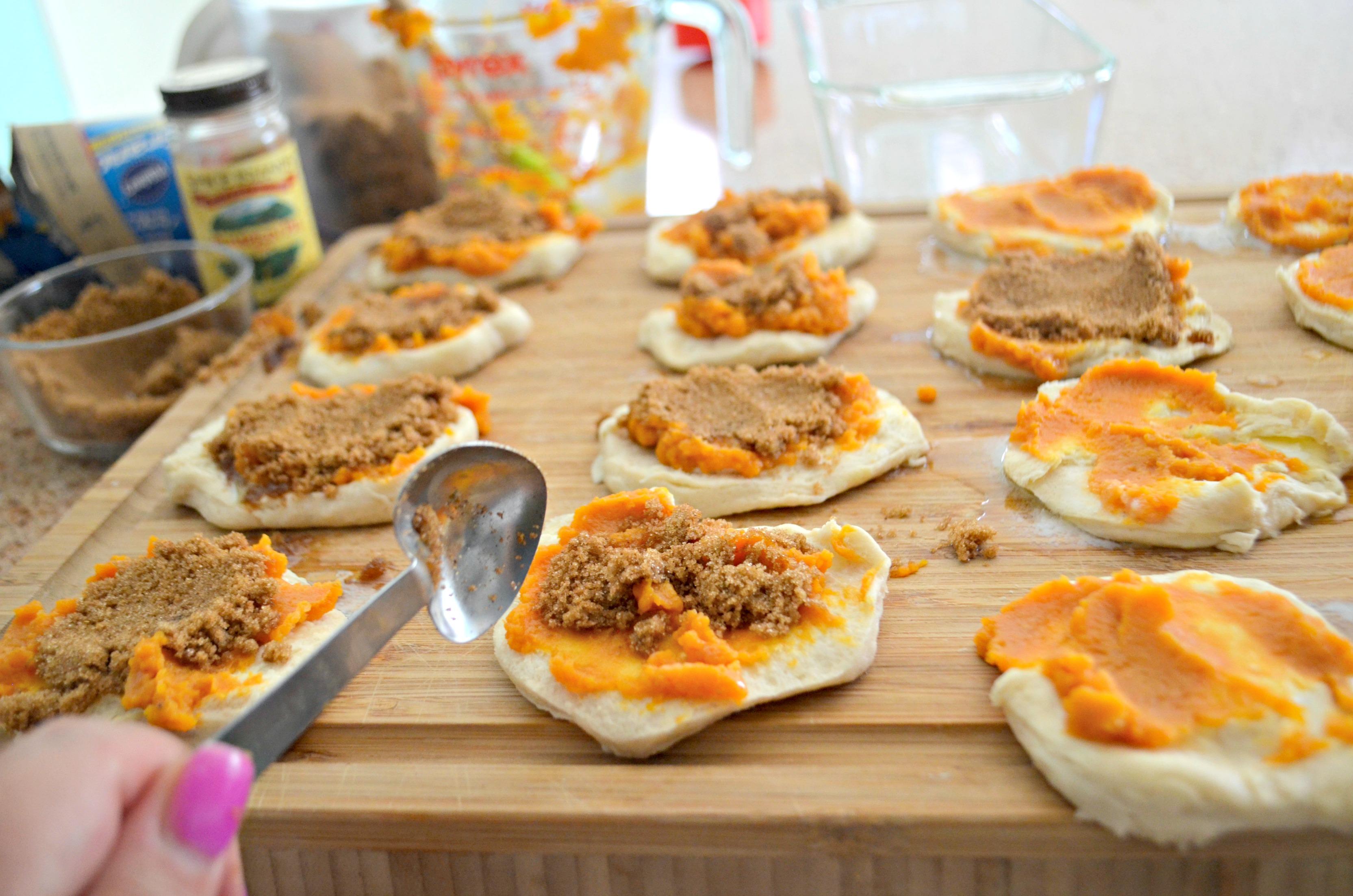 DIY Pull Apart Pumpkin Loaf