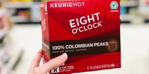 Buy 2 & Get 2 Free K-Cup Boxes at Office Depot = Eight O'Clock Coffee K-Cups 25¢ Each Shipped