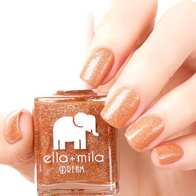 Use our Ella+Mila promo code to score Ella + Mila Glow with Me Nail Color 40% off