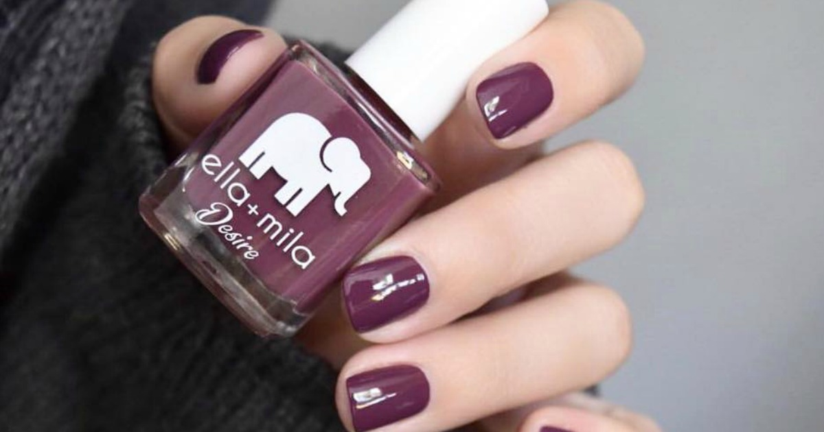 40 Off Five Of Our Favorite Ella Mila Fall Nail Colors