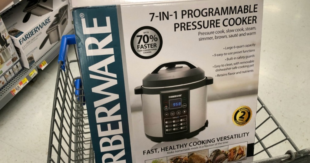 Farberware 6-Quart Digital Pressure Cooker Possibly Only $30