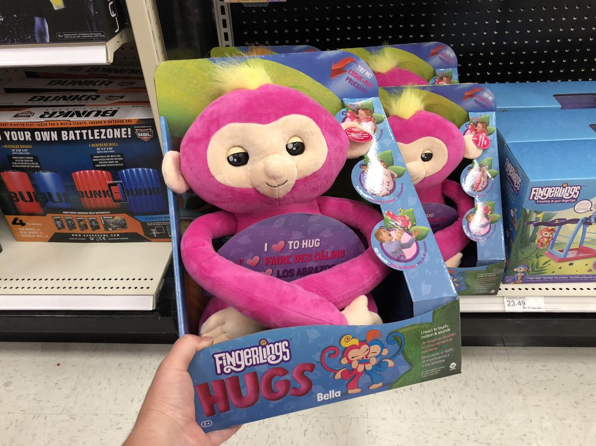 target top holiday toys 2018 – Fingerlings Hugs at Target