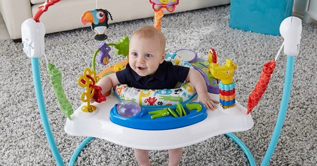 baby in jumper toy