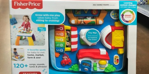 Fisher-Price Laugh & Learn Around the Town Learning Table Just $24.49 (Regularly $40)
