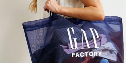 Up to 80% Off Gap Factory Men's & Women's Apparel