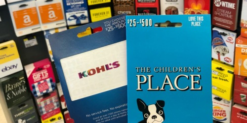 Free $10 Walgreens Gift Card w/ $50 Select Gift Card Purchase (Kohl's, The Children's Place & More)