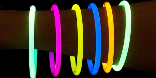 300 PartySticks Glow Sticks Only $16.99 (Great Candy Alternative for Halloween)