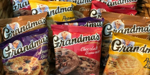 Grandma's Cookies 30-Count Pack Only $9.74 Shipped at Amazon | Just 32¢ Each