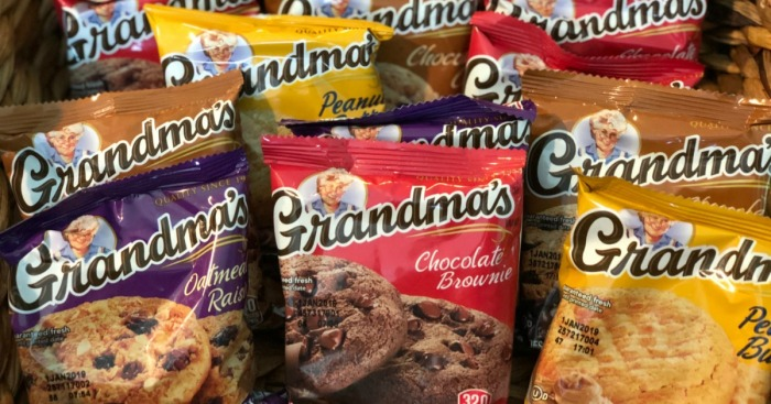 Amazon: Grandma's Cookies 30-Count Pack $9.74 Shipped (Just 32¢ Each)+ More