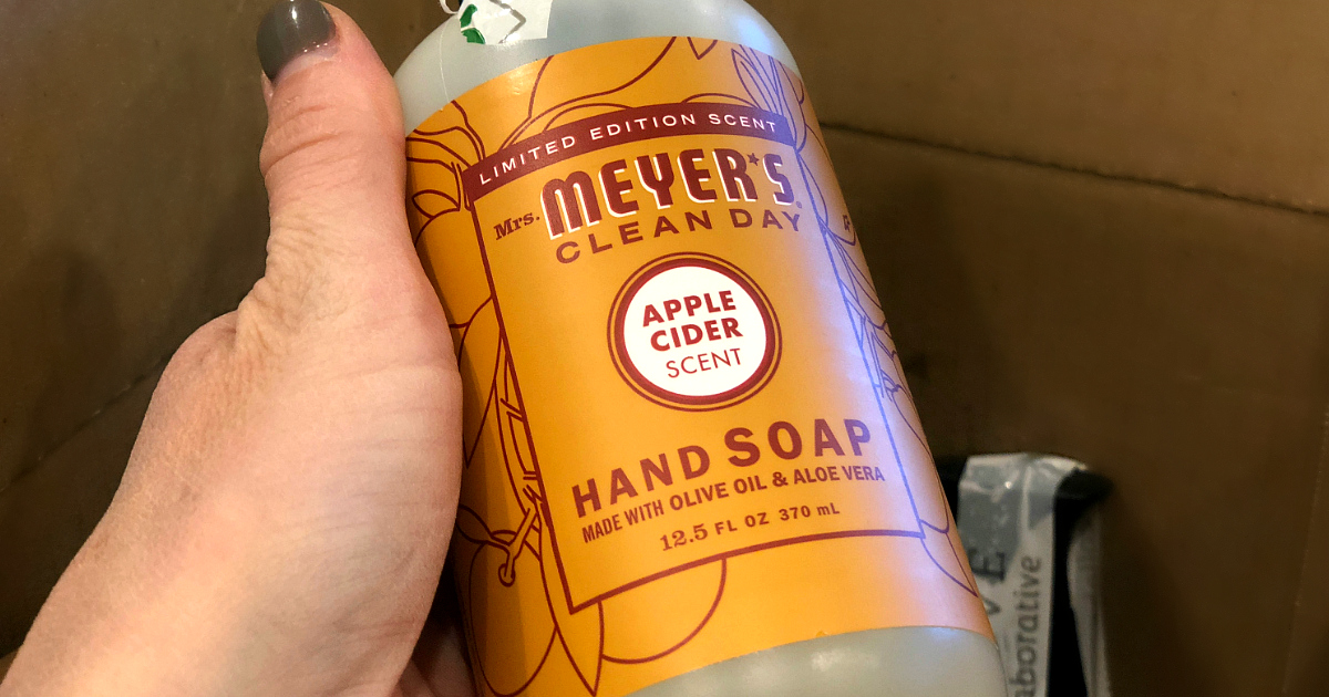 Grove Collaborative Fall Edition hand soap – mrs meyers fall gift set