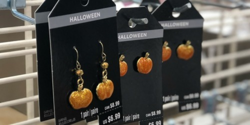 Halloween Jewelry Only $3.77 at Michaels (Earrings, Rings & More)
