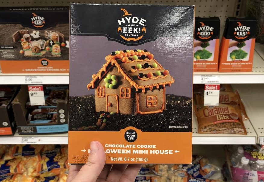2018 target halloween candy includes – Here, Halloween Mini Cookie House at Target