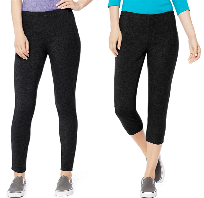 f76fbdf6c54df Hanes Women's Stretch Jersey Leggings $5 (regularly $10) Shipping is free.  Final cost $5 shipped!