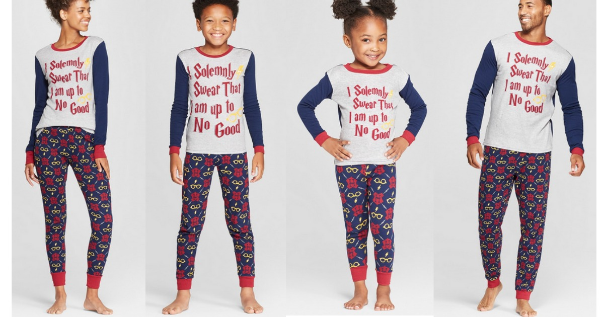 Matching Family Pajamas Now Available At Target Com Hip2save