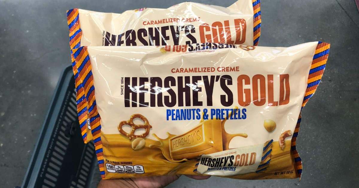 Over $3 Worth of New Hershey's Coupons = 2 FREE Hershey's Gold Bags at CVS + More