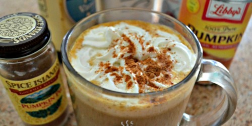 Cozy up with This DIY Pumpkin Spice Latte!