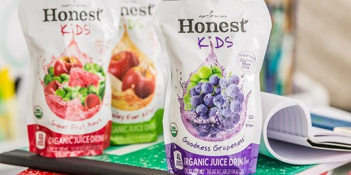 Amazon: Honest Kids Organic Juice 32-Count Drink Pouches Just $9 Shipped (Only 28¢ Each)