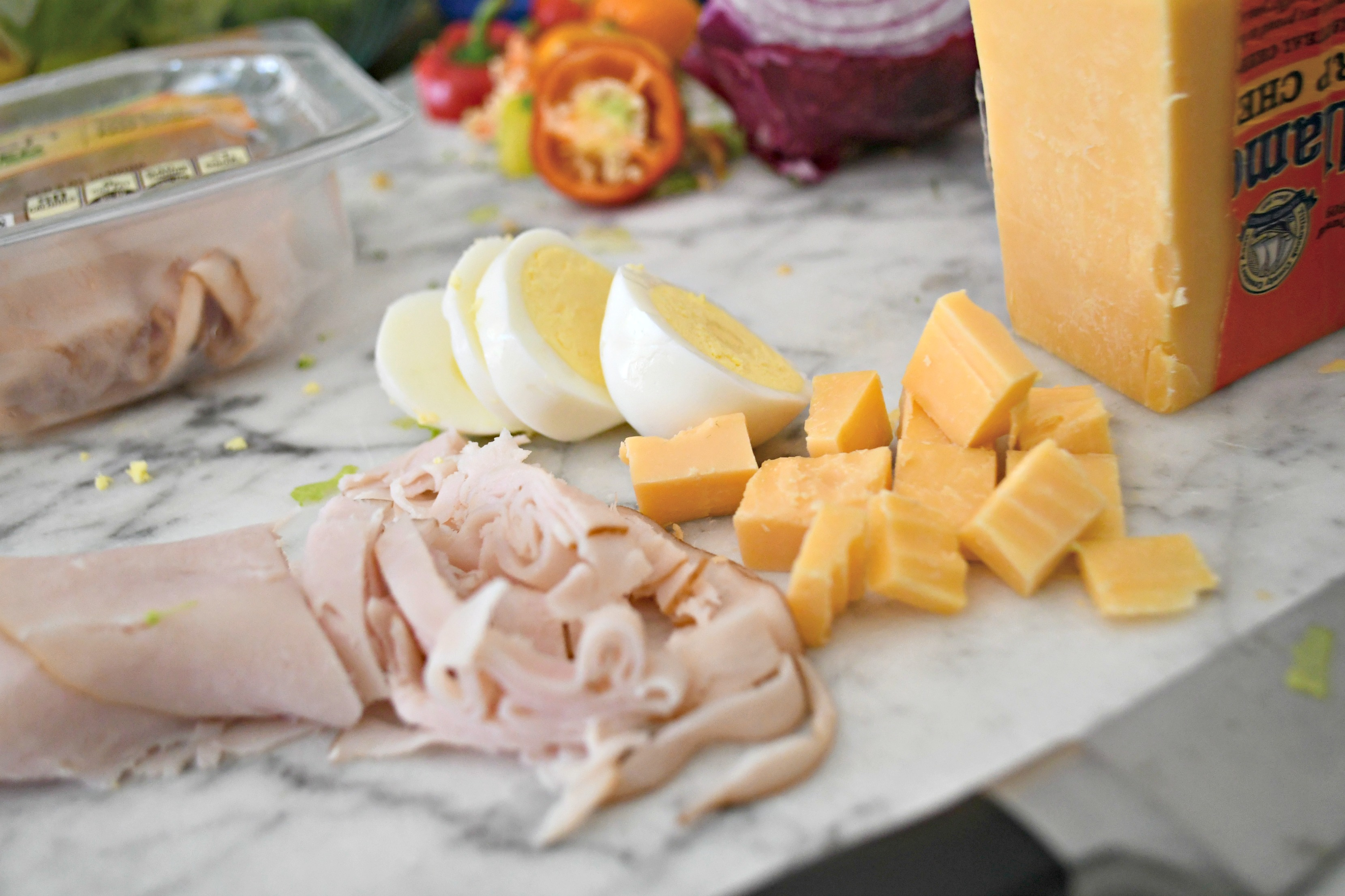 Weekly Sunday Salad Prep and my favorite dressing recipe -- Salad toppings